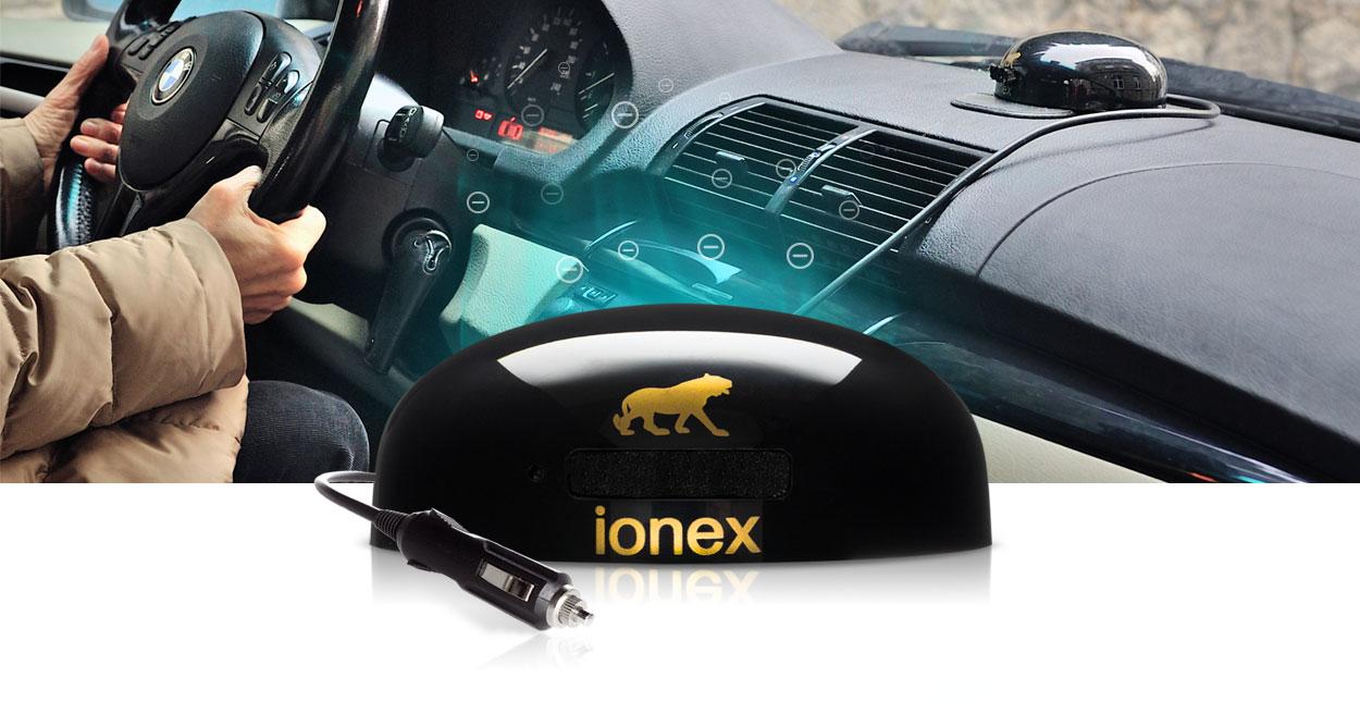 Car ioniser