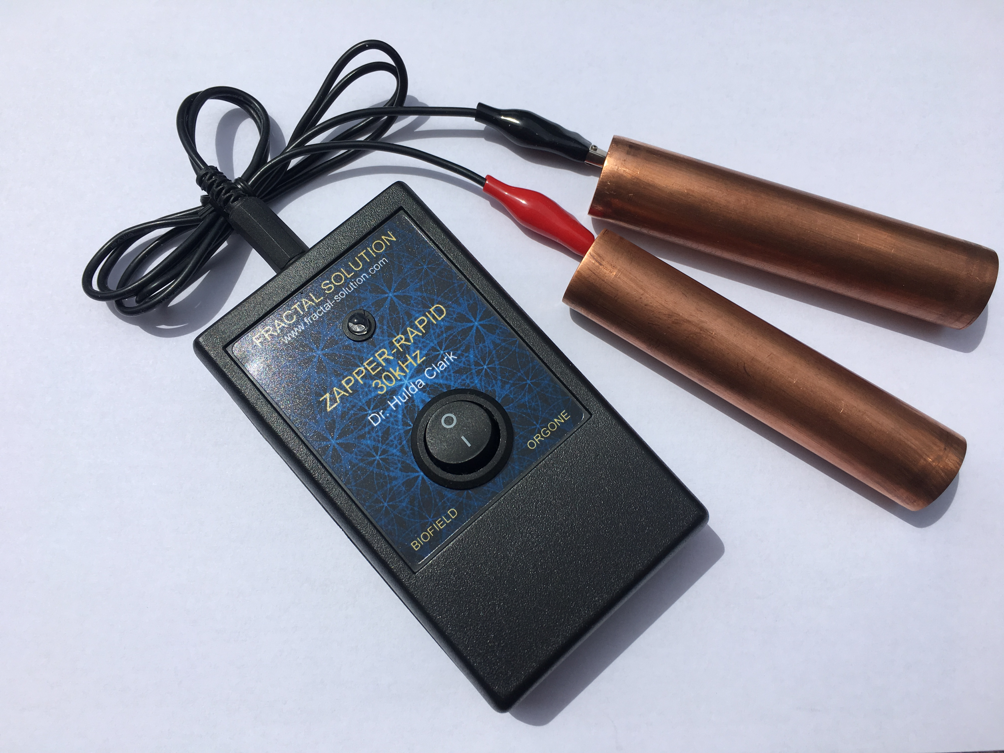 Zapper Rapid 30 kHz Orgone With Copper Handholds