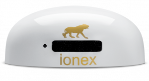 Ionex ionizer white emits negative ions for health